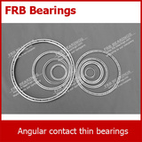 FKA series angular contact thin bearings