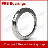 Four-point contact slewing rings(FLU32 series) with flange rings