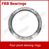 Four-point contact ball slewing bearing (FSI20 series) with internal gear teeth