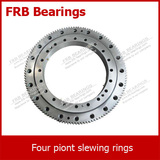 Four-point contact ball slewing bearing (FSA20 series) with external gear teeth