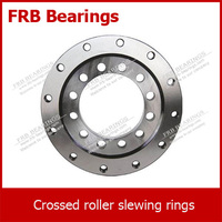Cross roller slewing bearings (XFU series) without gear teeth